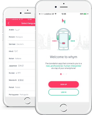whym translation for travel. The language app for Android and iOS.